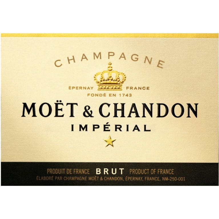 Moet & Chandon Imperial Brut (1.5 Liter Magnum) Front Label