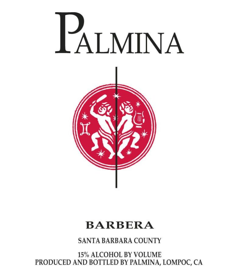 Palmina Barbera 2011 Front Label