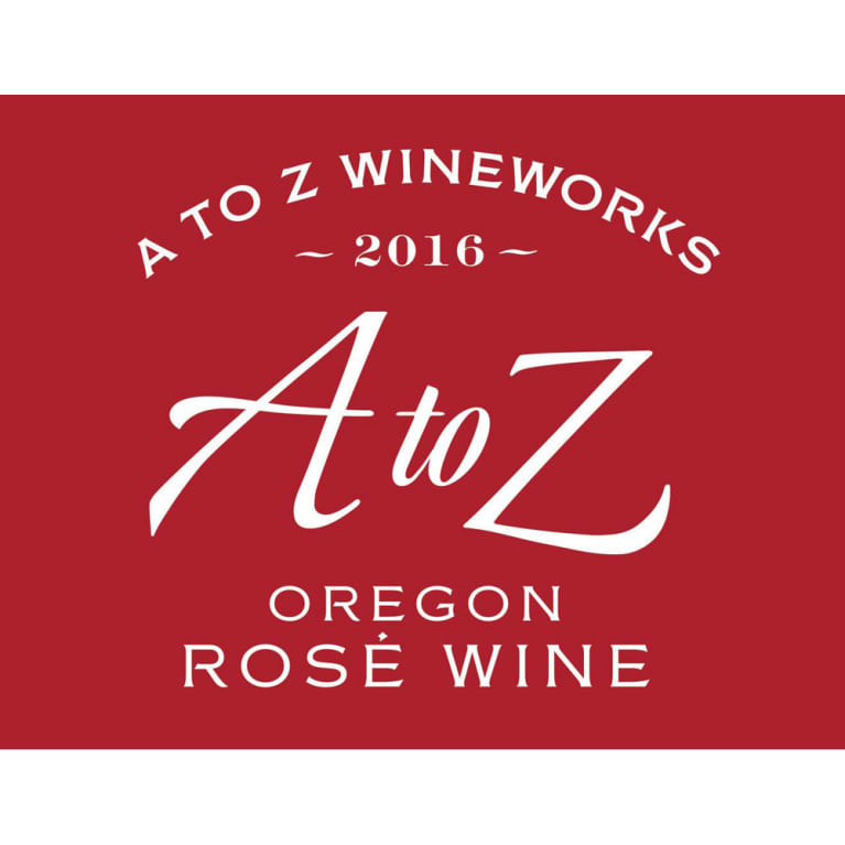 A to Z Rose 2016 Front Label