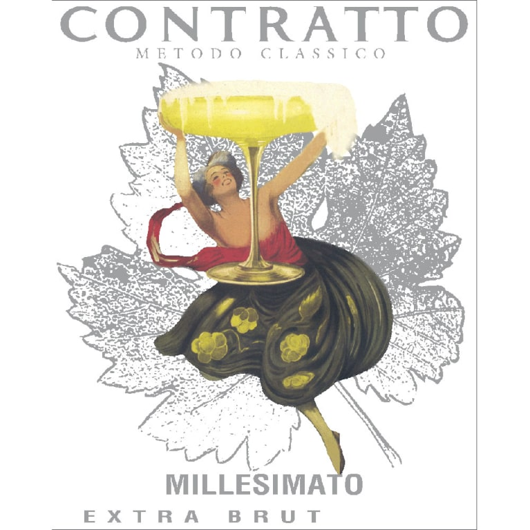 Contratto Millesimato Extra Brut 2011 Front Label