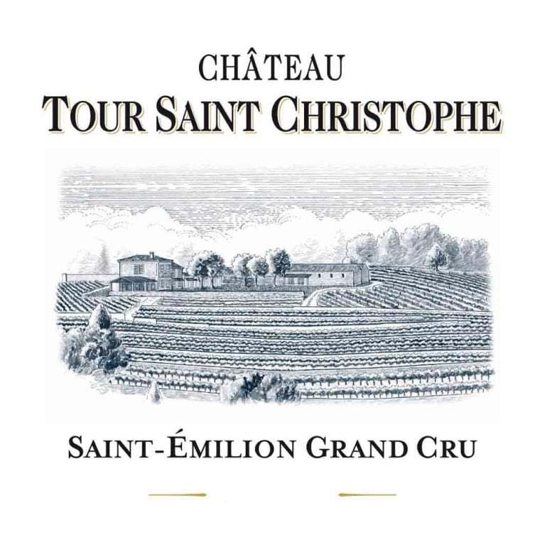 Tour Saint Christophe  2016 Front Label
