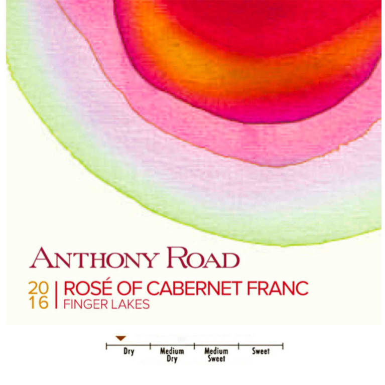 Anthony Road Rose 2016 Front Label
