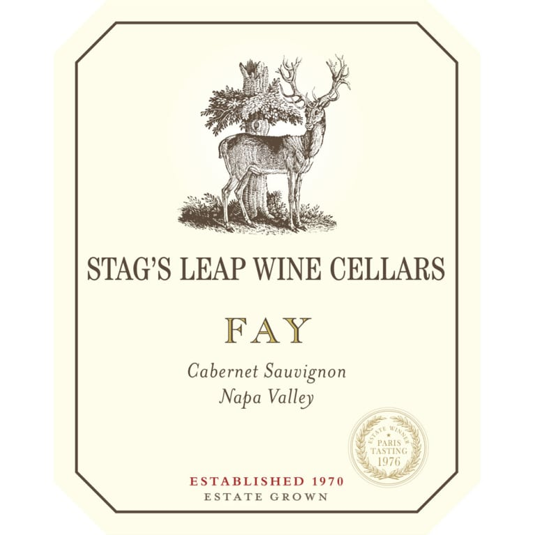 Stag's Leap Wine Cellars Fay Vineyard Cabernet Sauvignon 2014 Front Label