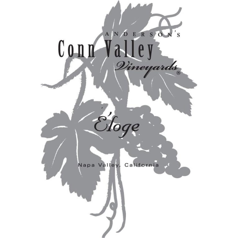 Anderson's Conn Valley Vineyards Eloge 2003 Front Label