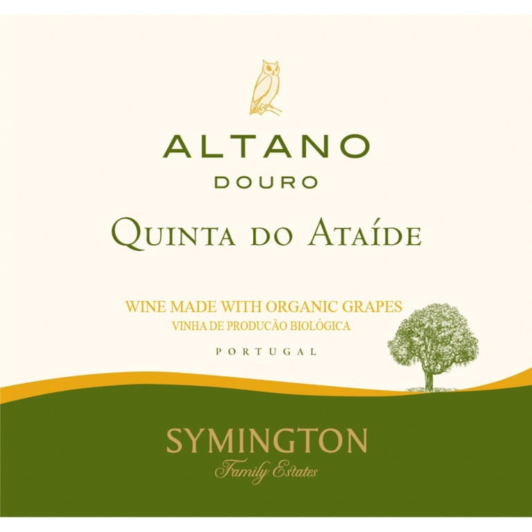 Altano Organic Quinta do Ataide 2015 Front Label