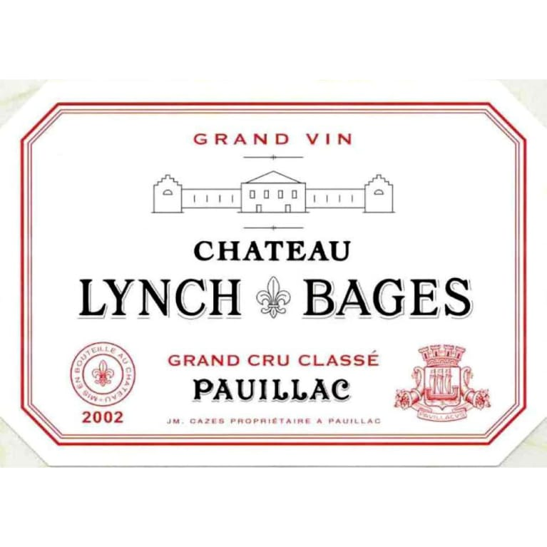 Chateau Lynch-Bages (1.5 Liter Magnum) 2002 Front Label