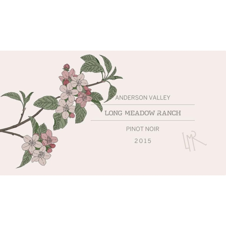Long Meadow Ranch Anderson Valley Pinot Noir 2015 Front Label