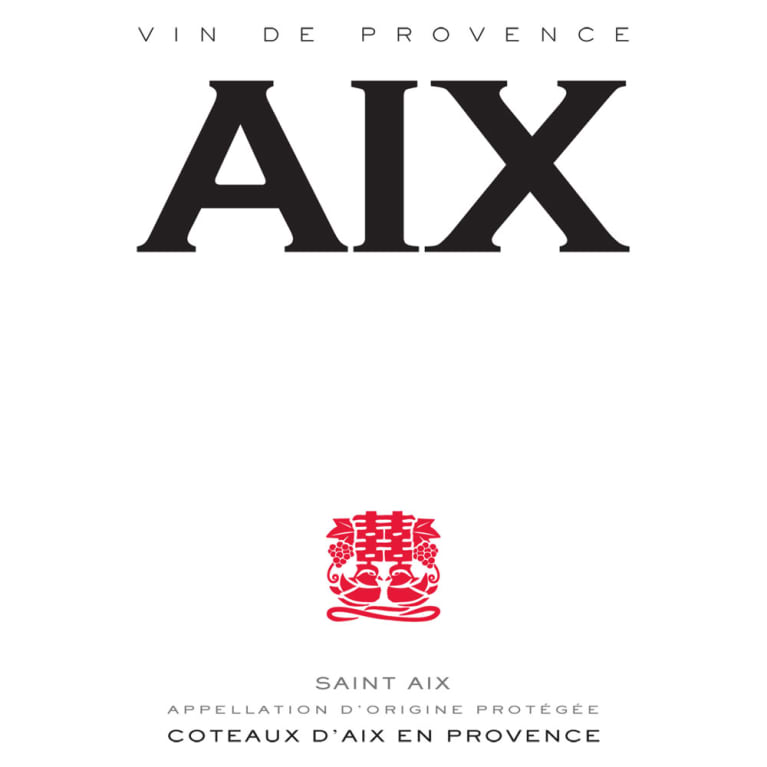 Aix Rose (1.5 Liter Magnum) 2016 Front Label