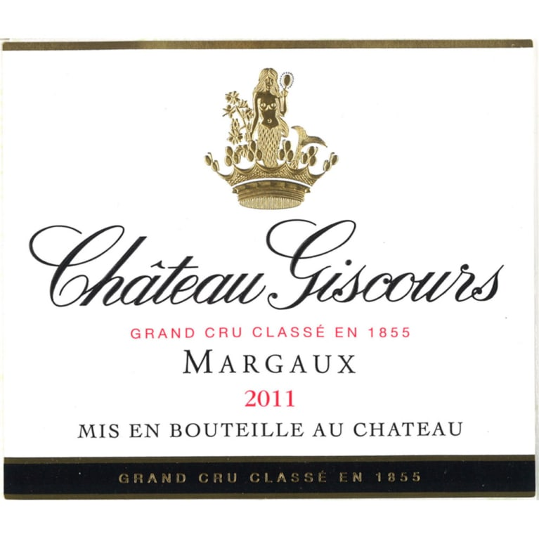 Chateau Giscours  2011 Front Label