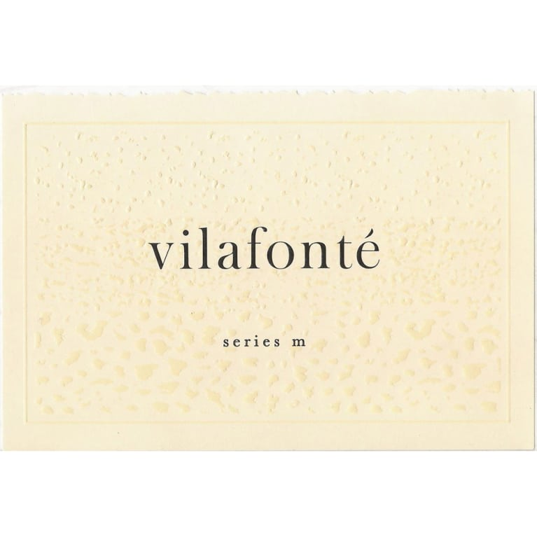 Vilafonte Series M 2012 Front Label