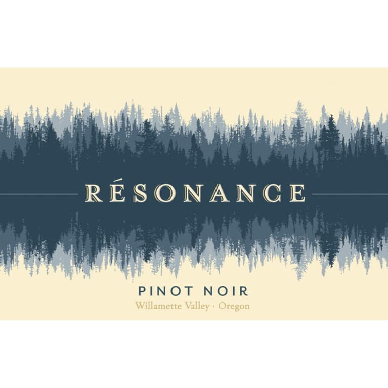 Resonance Willamette Valley Pinot Noir 2015 Front Label