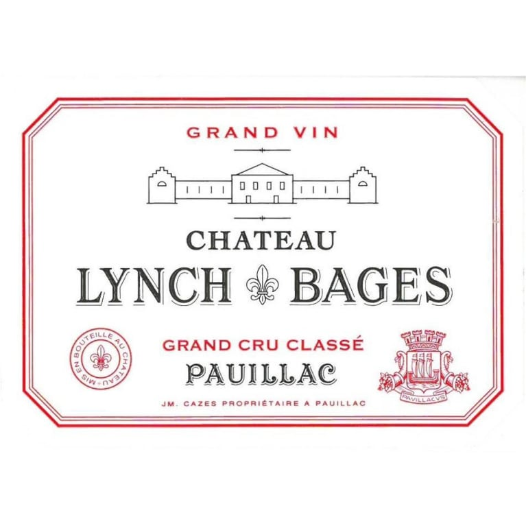 Chateau Lynch-Bages (1.5 Liter Magnum) 2016 Front Label
