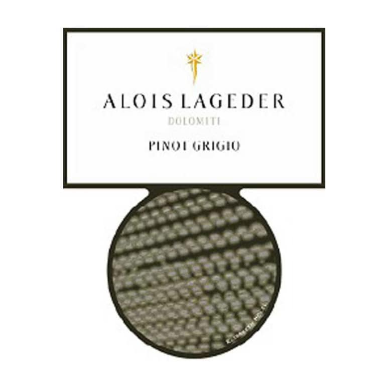 Alois Lageder Dolomitti Pinot Grigio 2016 Front Label