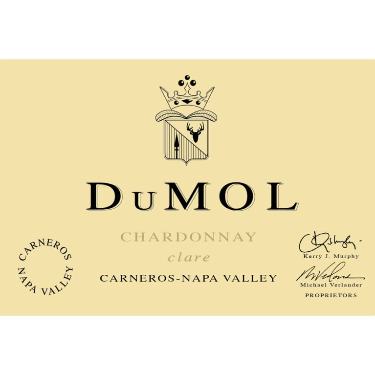 DuMOL Clare Chardonnay 2005 Front Label