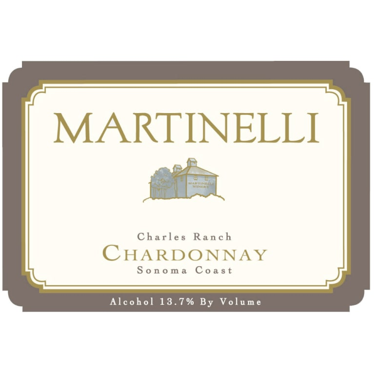 Martinelli Charles Ranch Chardonnay 2006 Front Label