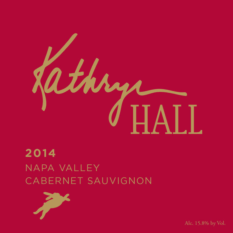 Hall Kathryn Hall Cabernet Sauvignon 2014 Front Label