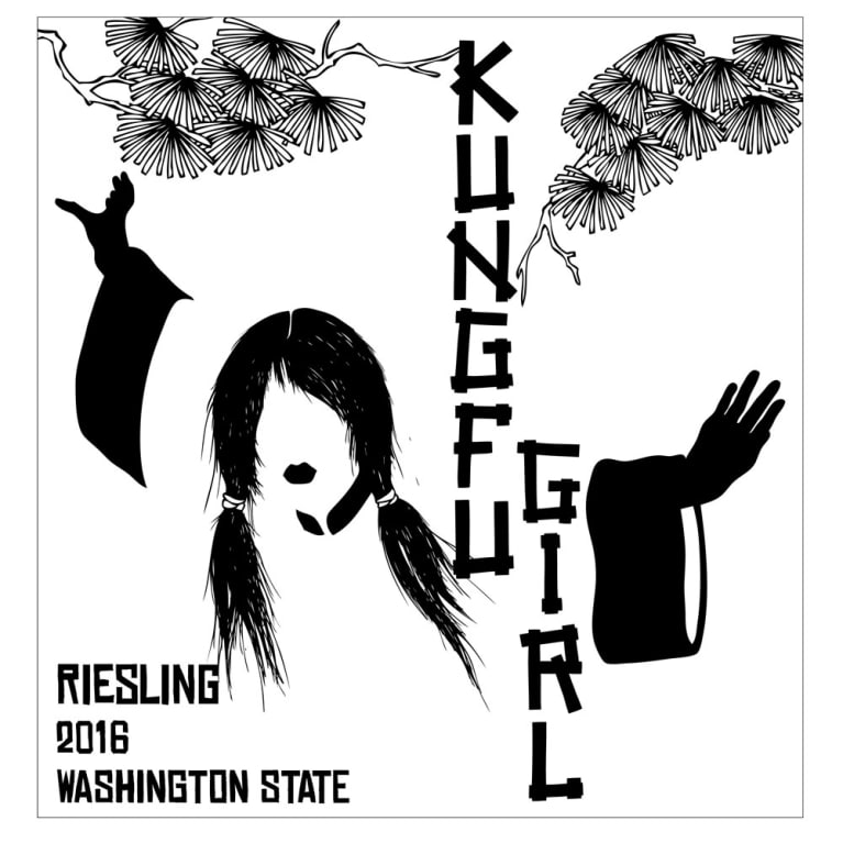 Charles Smith Wines Kung Fu Girl Riesling 2016 Front Label