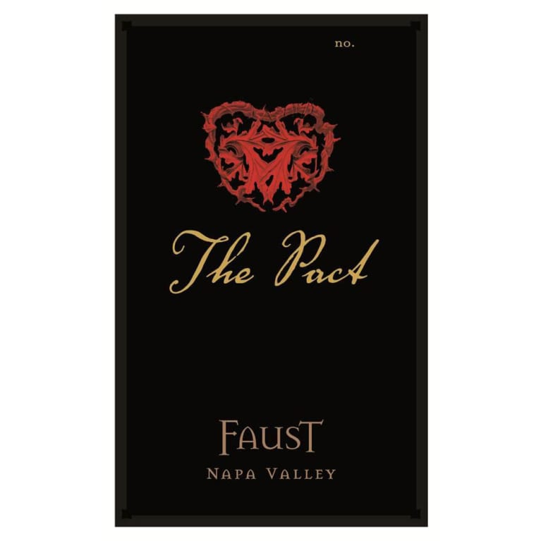 Faust The Pact 2014 Front Label