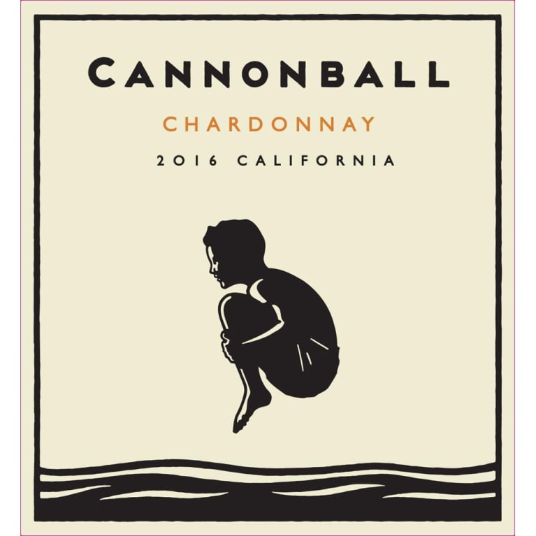 Cannonball Chardonnay 2016 Front Label