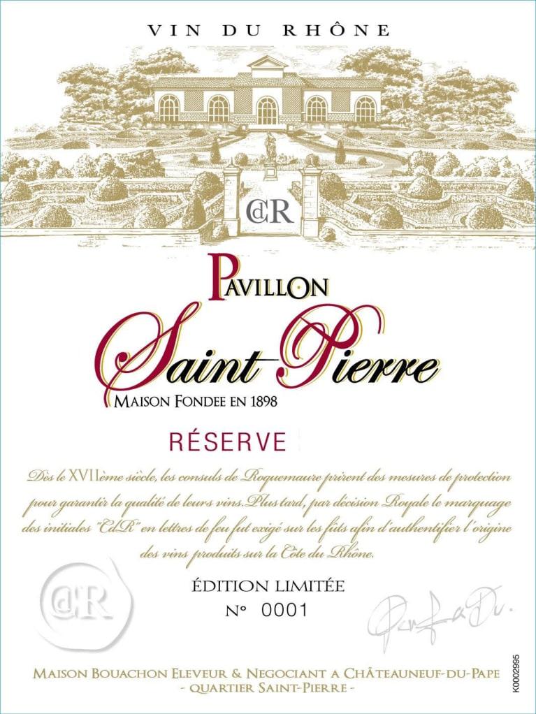 Maison Bouachon Cotes Du Rhone Pavillon Saint Pierre Reserve 2014 Wine Com