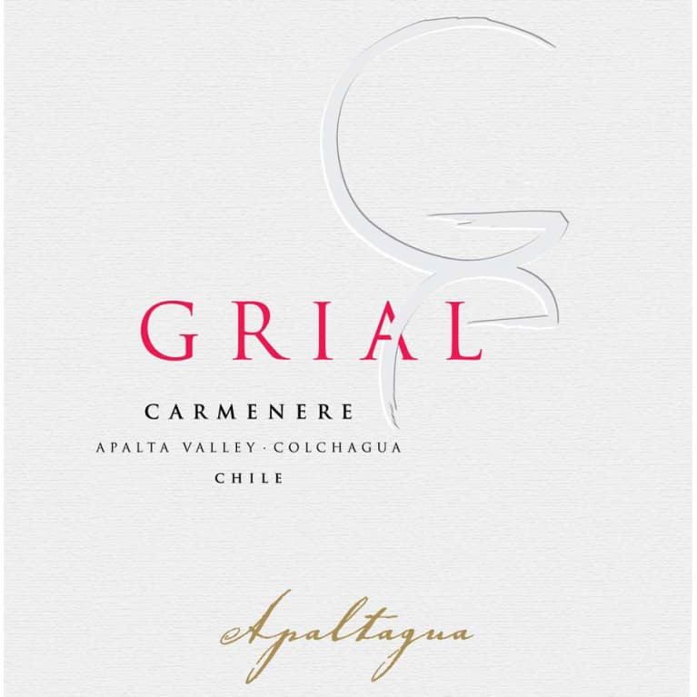 Apaltagua Grial Carmenere 2015 Front Label
