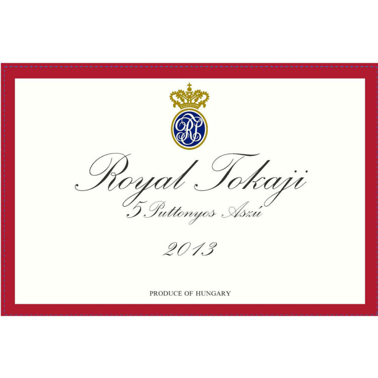 Royal Tokaji 5 Puttonyos (Red Label) (500ML) 2013 Front Label