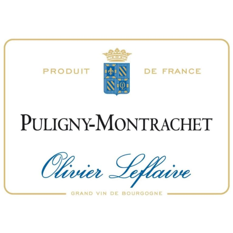 Olivier Leflaive Puligny-Montrachet 2015 Front Label