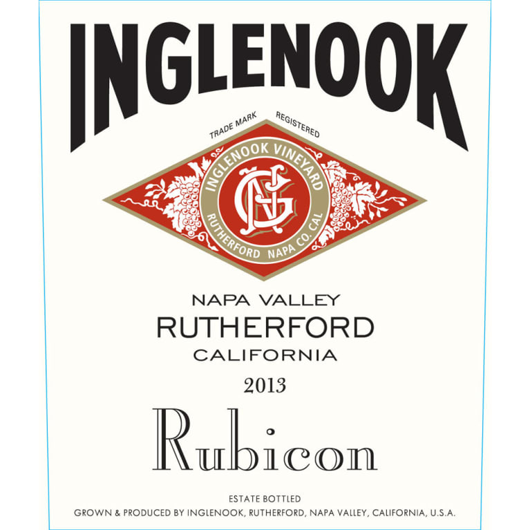 Inglenook Rubicon 2013 Front Label