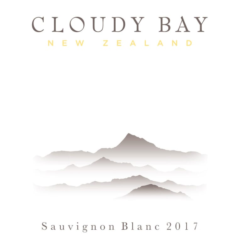 Cloudy Bay Sauvignon Blanc 2017 Front Label
