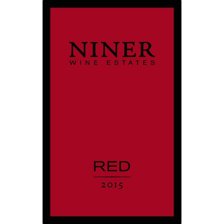 Niner Proprietary Red 2015 Front Label