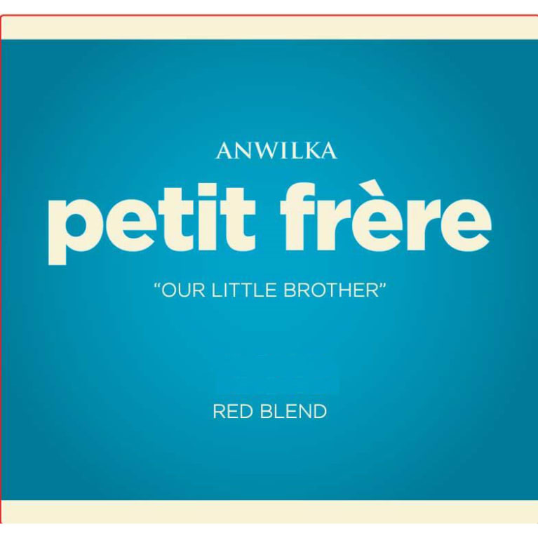 Anwilka Petit Frere Red Blend  2014 Front Label
