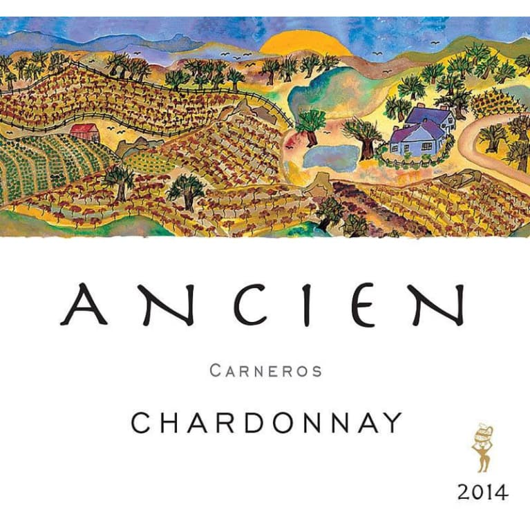 Ancien Wines Chardonnay 2014 Front Label