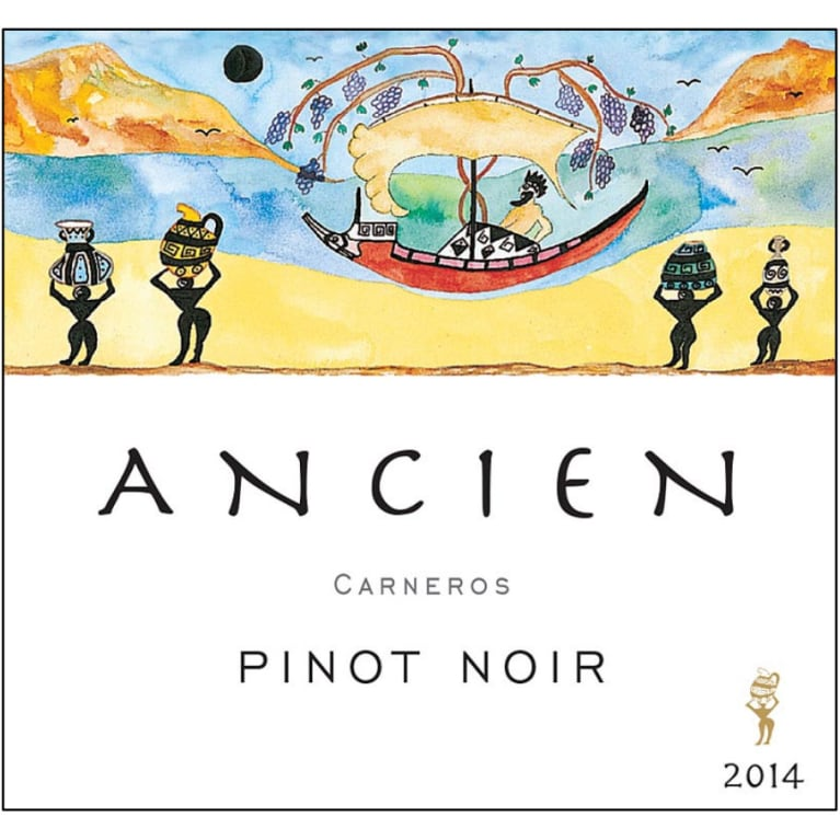 Ancien Wines Carneros Pinot Noir 2014 Front Label