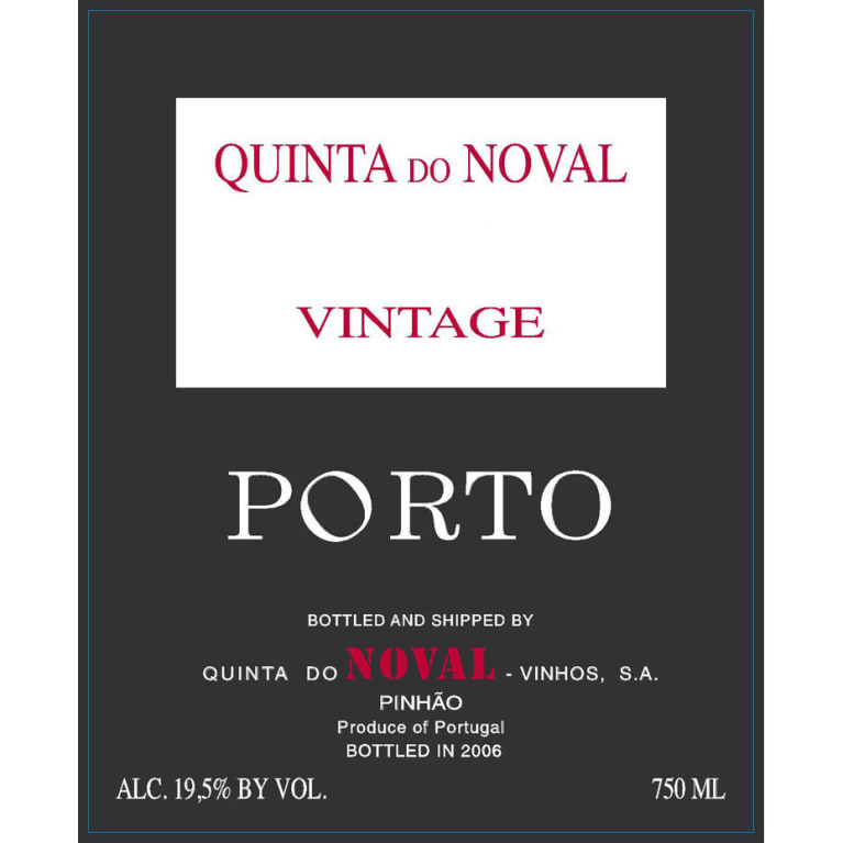 Quinta do Noval Vintage Port 2015 Front Label