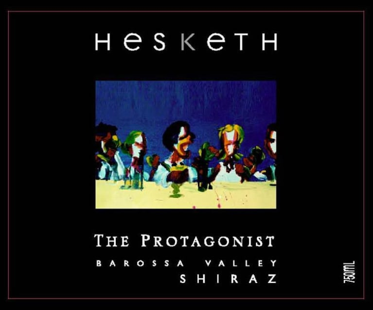 Hesketh The Protagonist Shiraz 2010 Front Label
