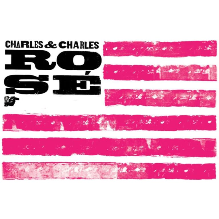 Charles & Charles Rose 2017 Front Label
