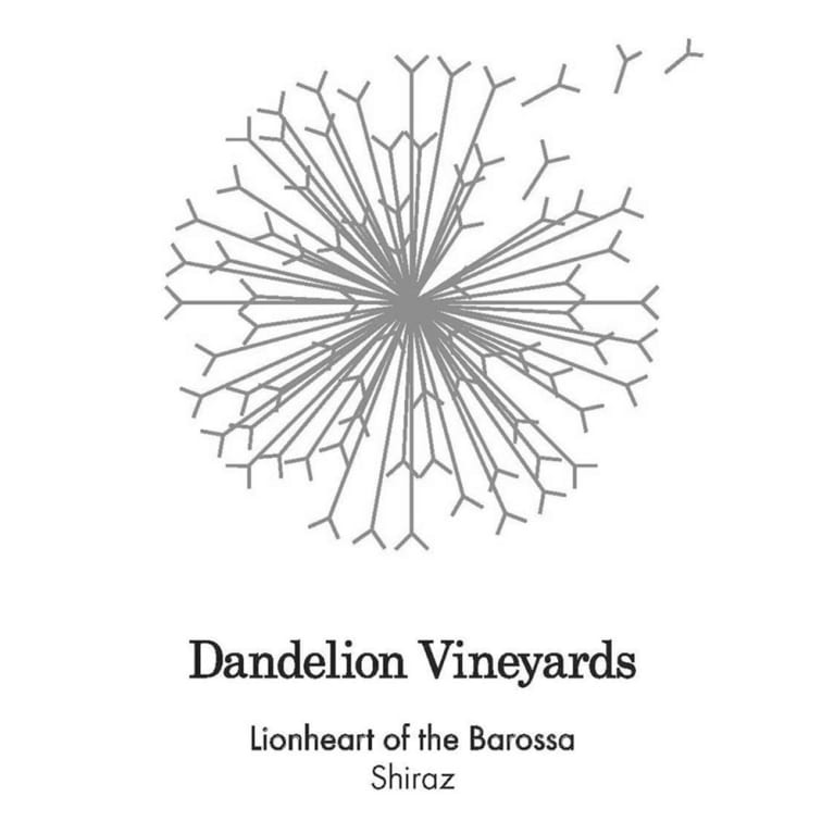Dandelion Vineyards Lionheart of the Barossa Shiraz 2015 Front Label