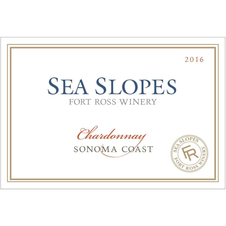 Sea Slopes by Fort Ross Winery Chardonnay 2016 Front Label