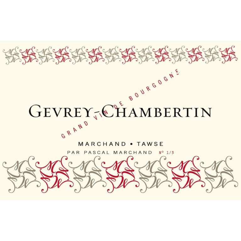 Marchand-Tawse Gevrey-Chambertin 2015 Front Label