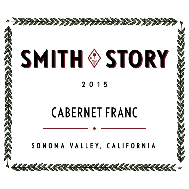 Smith Story Cabernet Franc 2015 Front Label