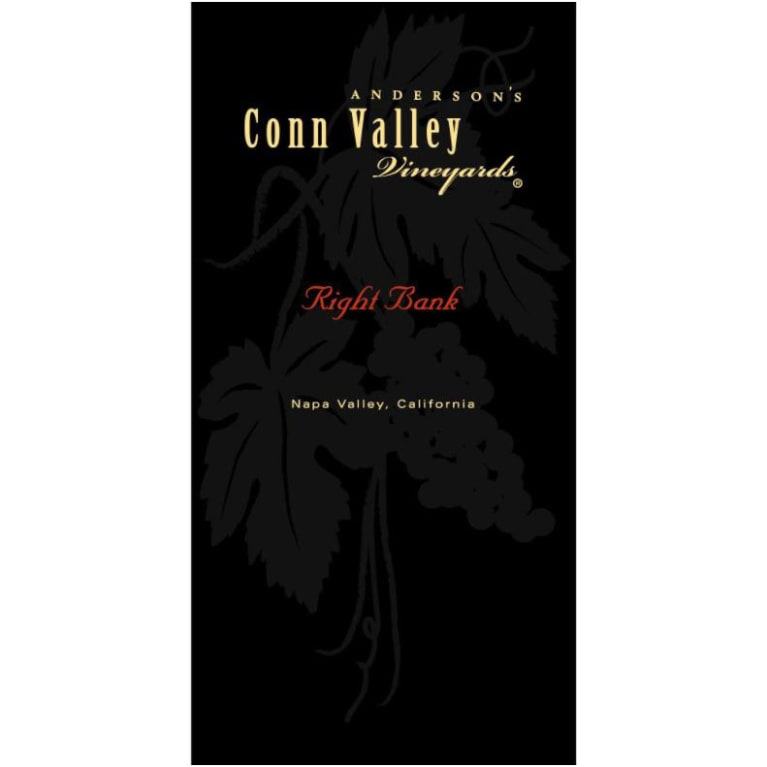 Anderson's Conn Valley Vineyards Right Bank Proprietary Red Blend 2015 Front Label