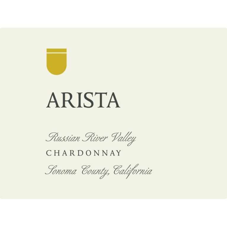 Arista Winery Russian River Chardonnay 2015 Front Label