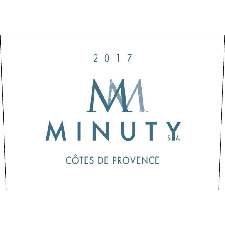Chateau Minuty M Rose 2017 Front Label