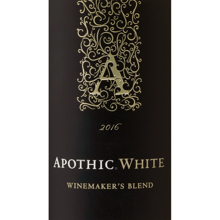 Apothic White Blend 2016 Front Label