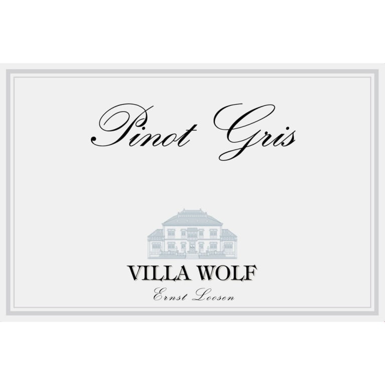 Villa Wolf Pinot Gris 2017 Front Label