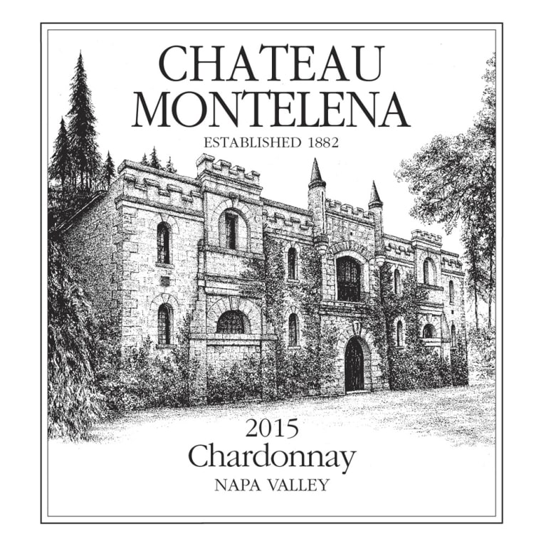 Chateau Montelena Napa Valley Chardonnay 2015 Front Label