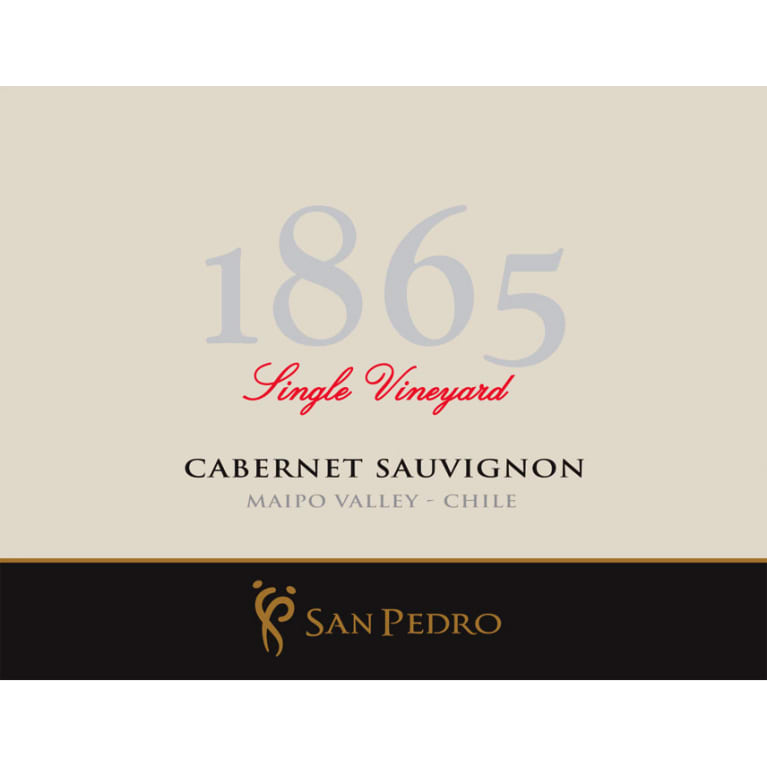 1865 Selected Vineyards Cabernet Sauvignon 2016 Front Label