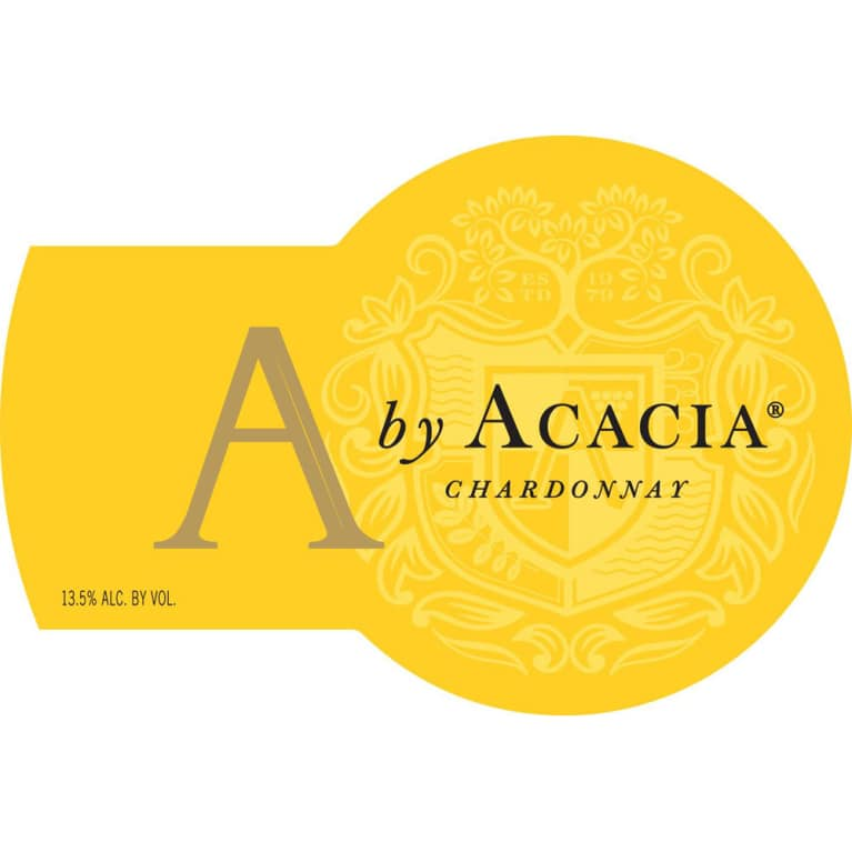 A by Acacia California Chardonnay 2016 Front Label