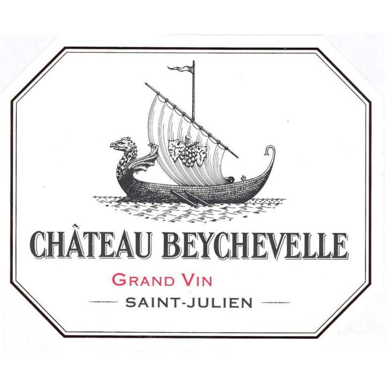 Chateau Beychevelle (1.5 Liter Futures Pre-Sale) 2017 Front Label