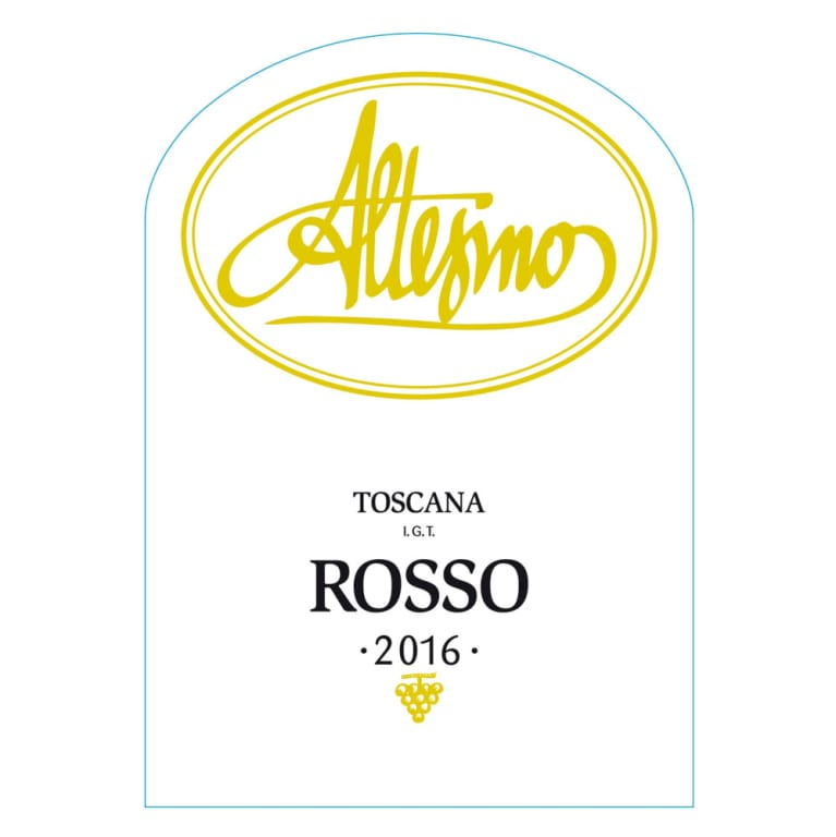Altesino Rosso di Altesino Toscana 2016 Front Label